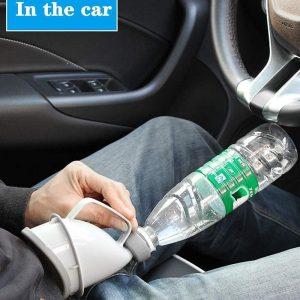 Unisexe voiture urinoir entonnoir extérieur voiture voyage Portable adulte urinoir unisexe pot pipi entonnoir pipi debout homme femme toilette