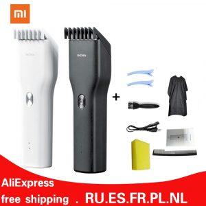 Tondeuses à cheveux électriques pour hommes tondeuses sans fil tondeuses pour adultes tondeuses professionnelles rasoir d'angle Hairdresse XiaoMi ENCHEN