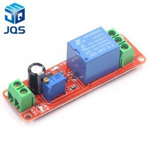 NE555 interrupteur de minuterie Module réglable relais de retard Module DC 12V relais de retard bouclier 0 ~ 10S