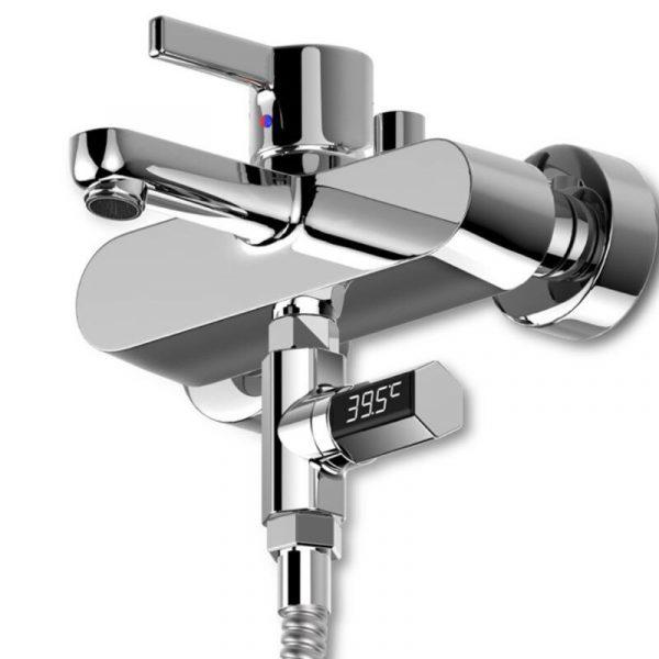 Affichage LED robinet de débit d'eau à domicile thermomètre de douche moniteur de température bébé