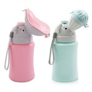 Urinoir Portable pour bébés de 500ML   Fournitures de voyage pour voitures pour garçons et filles, pot d'entraînement, 1 pièce