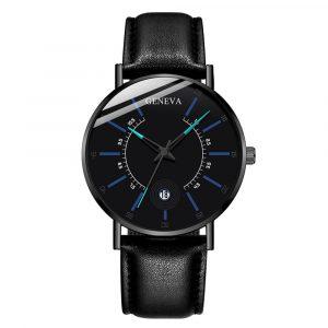 Relogio masculino genève marque hommes montre Date affichage Quartz pour mode décontractée montre hommes mâle horloge cadeau relojes para hombre 2020