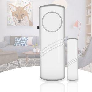 1 pièces Smart corps humain capteurs de sécurité alarme de porte et fenêtre sans fil maison fenêtre porte d'entrée capteurs blanc