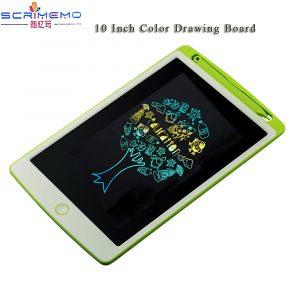 Scrimémo 10 pouces LCD dessin tablette enfants écriture tablette manuscrite tampons couleur planche à dessin tablette électronique