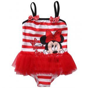 Pudcoco enfant bébé enfants fille rayé Minnie une pièce maillot de bain maillot de bain Monokini Bikini maillot de bain Tutu maillot de bain