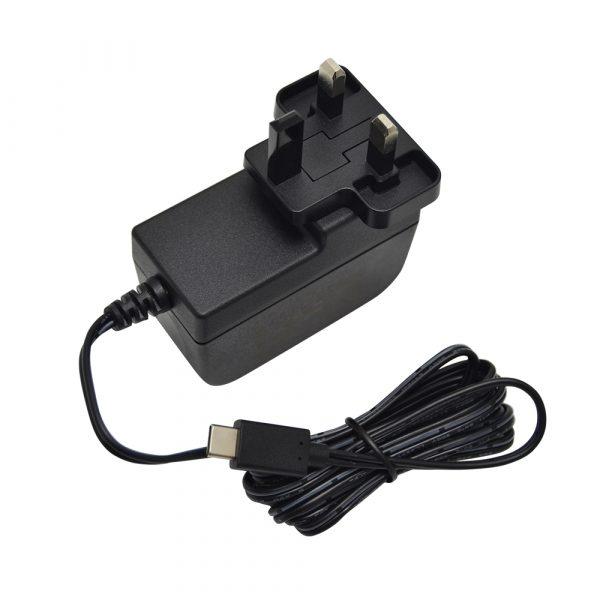Framboise d'origine Pi 4 USB type-c chargeur d'alimentation ue US royaume-uni AU prise d'alimentation remplaçable chargeur 5.1V 3A