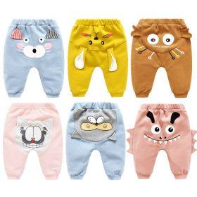 2020 automne hiver nouveau-né taille haute pantalon pantalon pour bébé garçon et filles unisexe dessin animé infantile leggings vêtements chauds vêtements mignons