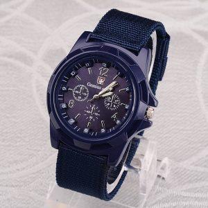 Gemius armée montre hommes sport montres Nylon bande militaire armée montres hommes Quartz montre-bracelet mannen horloge reloj hombre hodinky
