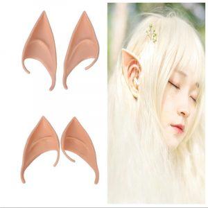 Cos Elf oreilles 2 couleurs adultes enfants prothèses fausses oreilles Halloween Performance fête scène accessoires 1 paire