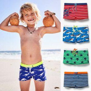 Maillot de bain pour enfants | Maillot de bain, pour garçons et enfants de vacances, imprimé à rayures, short d'école, de sport, pour enfants de 0-6 ans