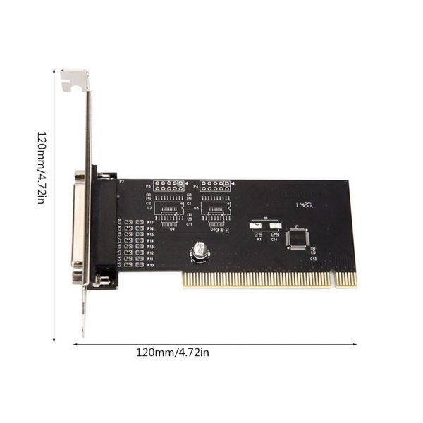 PCI Lpt 1Port i/o 25pin parallèle LPT carte PCI carte d'extension PCI vers parallèle 25pin DB25 Port imprimante carte contrôleur
