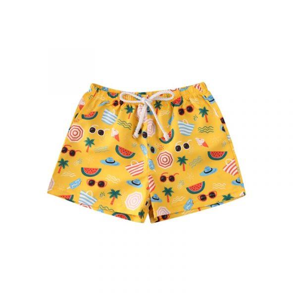 Maillot de bain short de plage 0-4T | Ensemble pour petits garçons et filles, vêtements de plage pour l'été, 2020