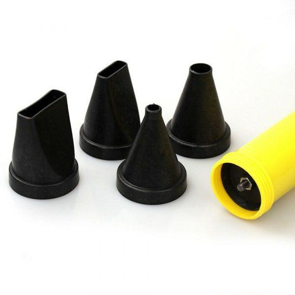 Multifonction ultime acier inoxydable ciment calfeutrage pompe ensemble chaux ciment calfeutrage pistolet ciment mortier pulvérisateur applicateur outil
