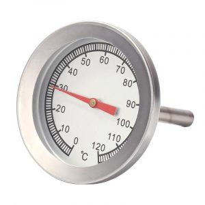Barbecue inox Barbecue fumoir gril thermomètre jauge de température thermomètre four
