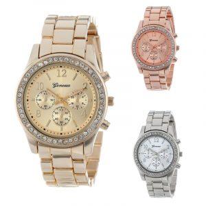 2019 nouveau genève classique luxe strass montre femmes montres mode dames femmes horloge Reloj Mujer Relogio Feminino Q09