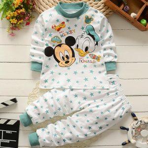 0-2year bébé vêtements ensemble hiver coton nouveau-né bébé garçons filles vêtements 2 pièces bébé pyjamas unisexe enfants vêtements ensembles