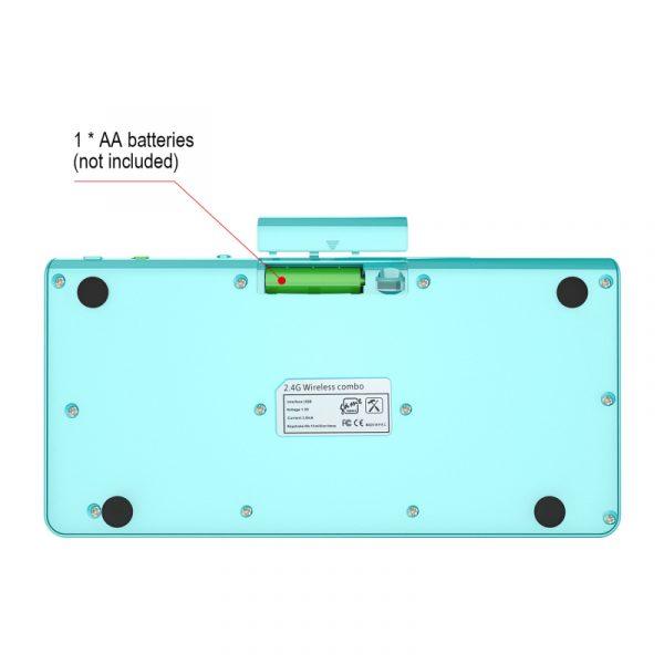 2.4G mince optique sans fil clavier et souris manuel d'utilisation sans fil multimédia clavier souris Combo ensemble pour ordinateur portable PC