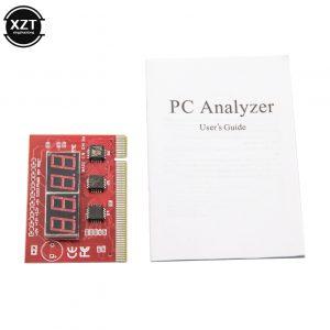 Nouveau PCI PC ordinateur carte mère débogage carte postale analyseur carte mère testeur LED 4 chiffres diagnostic affichage pour ordinateur de bureau EM88