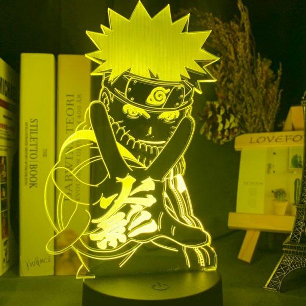 Anime Naruto Uzumaki Led veilleuse équipe 7 Sasuke Kakashi Hatake enfants chambre veilleuse Itachi Uchiha 3d lampe enfant cadeau de noël