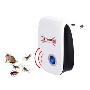 NICEYARD ue/US Plug électronique moustique répulsif intérieur cafard moustique insecte tueur rongeur Contro ultrasons répulsif antiparasitaire