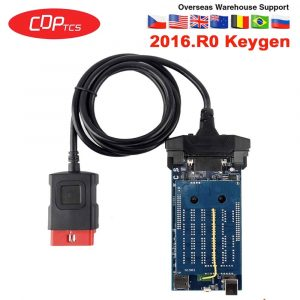 CDP TCS 2016.R0 keygen bluetooth CDP TCS for cars trucks obd2 diagnostic tool with nec relays OBD 2 code reader OBDII scanner