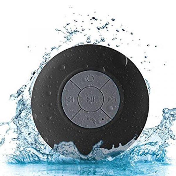 Mini haut-parleur Bluetooth Portable étanche sans fil mains libres haut-parleurs, pour douches, salle de bain, piscine, voiture, plage et Outdo