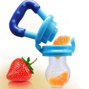 1 pièces bébé sucette infantile mamelon sucette enfant en bas âge enfants sucette mangeoire pour Fruits nourriture Nibler factice bébé alimentation sucette
