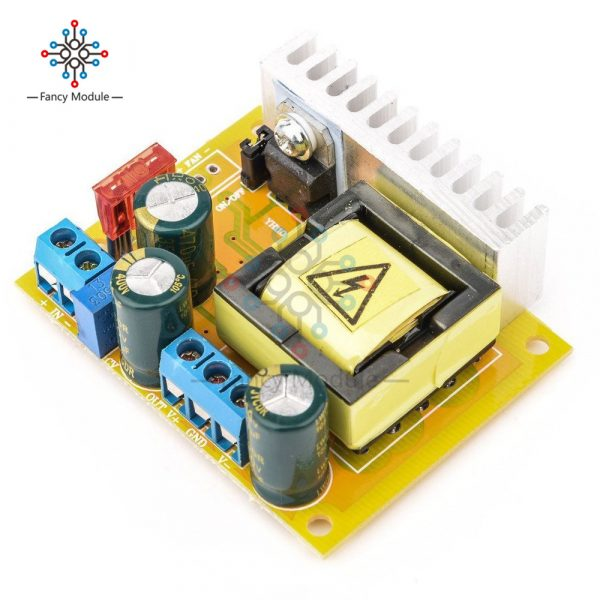 Convertisseur de condensateur ZVS haute tension réglable | Planche à convertisseur haute tension, 390 cc 8-32V à 45 ~ 390V/DC 8-32V à 45V-V