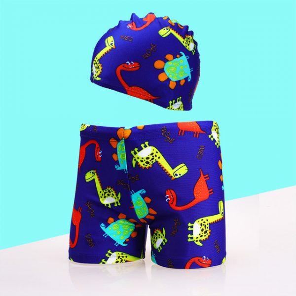 Maillot de bain pour enfants | Bonnet de bain et shorts pour garçons, maillot de bain à séchage rapide, shorts de plage pour bébés, 2020