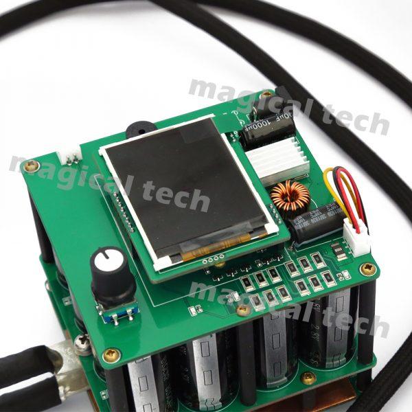 1600F Portable soudeuse par points 0.25 nickelé bricolage condensateur impulsion soudage par points Machine de soudage contrôleur pour 18650 batterie Pack