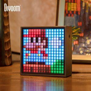 Divoom Timebox Evo Bluetooth haut-parleur Portable avec réveil affichage LED Programmable pour Pixel Art création cadeau Unique
