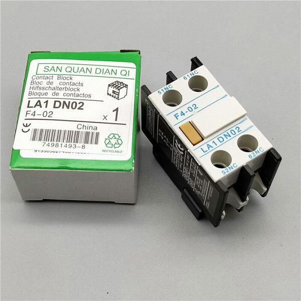 LA1-DN22 LA1-DN11 F4-22 F4-11 contacteur bloc auxiliaire le contact auxiliaire pour CJX2 LC1-D contacteur ca 4 pôles