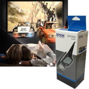 ELPGS03 bluetooth obturateur lunettes 3D actives pour Epson Home Cinema 3D projecteurs