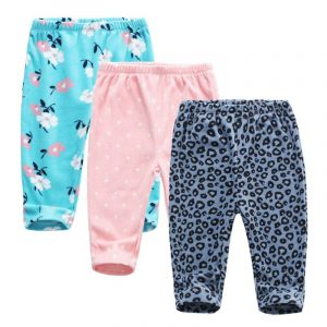 Pantalon de printemps et d'été pour enfants | Harem, pantalon PP en coton tricoté pour garçons et filles, Leggings pour nouveau-nés