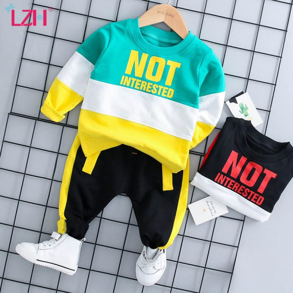 Vêtements pour bébés filles ensemble de vêtements 2020 automne hiver nouveau-né bébé garçons vêtements T-shirt + pantalon tenues Costume bébé Costume