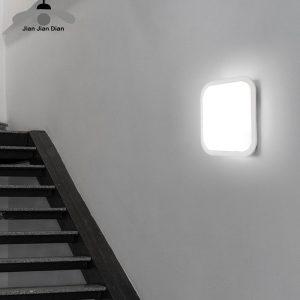 Mur Led lumière monté en Surface luminaire 15W 20W salle de bain salon cuisine 110V 220V IP65 étanche extérieur La