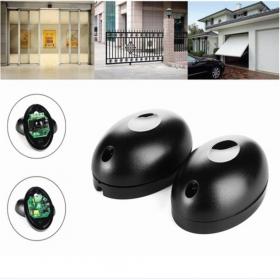 Détecteur infrarouge photoélectrique à faisceau unique | 1 paire de 20m, système de sécurité, capteur de porte, détecteur de barrière pour porte et fenêtre
