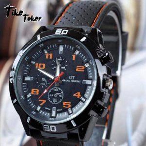 2019 de luxe marque hommes montres analogique Quartz horloge mode décontracté sport en acier inoxydable heures montre-bracelet