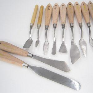 Palette huile mélange racloir couteau Texture peintre peinture outil artiste Art dessiner spatule tiroir aquarelle étudiant Pigment