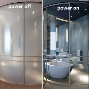 Smart Film Sample 200mmx150mm Smart Film Power on and Off Self-adhesive Switchable Privacy Opaque/Transparent