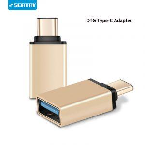 OTG USB C adaptateur mâle vers USB3.0 femelle OTG type-c vers USB adaptateur/convertisseur pour Macbook Nexus Nokia N1 pour Samsung S8 Plus