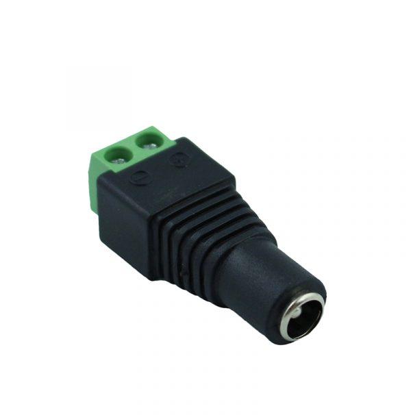 BLYN prise Jack prise mâle et femelle   Connecteur DC 5.5mm x 2.1mm, pour prise de courant CCTV connexion de lumière à bande