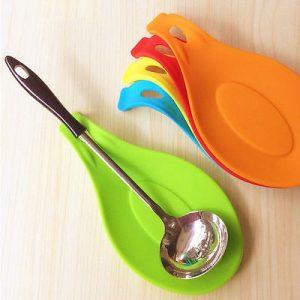 Outils de cuisine multi-tapis en Silicone | Napperon isolant, napperon résistant à la chaleur, mettre une cuillère, accessoires de cuisine,