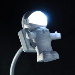 Lampes de bureau lumières Litwod nouvelle mode nouveauté romantique bébé ampoule Led Port Usb Dc résine bouton interrupteur cale nuit prise astronautes