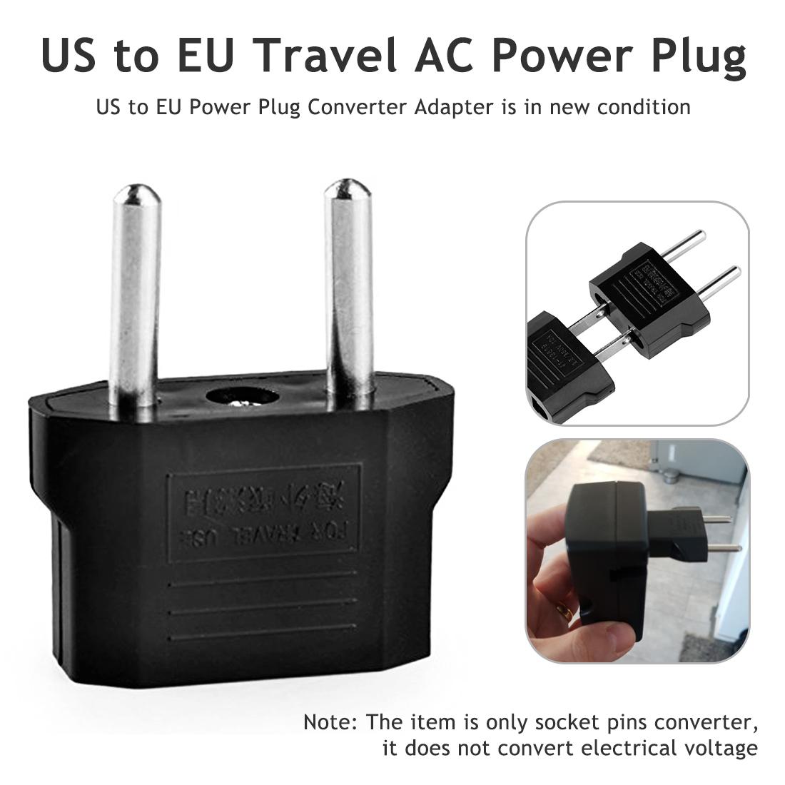 Adaptateur de prise ue européenne | Prise US américaine vers l'europe, adaptateur de voyage, prise de sortie, convertisseur de prise