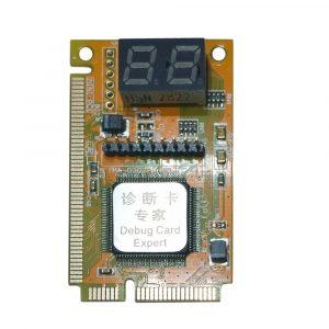 3 en 1 Mini PCI-E LPC PC analyseur testeur Test de carte postale pour ordinateur portable affichage de caractères hexadécimaux haute stabilité