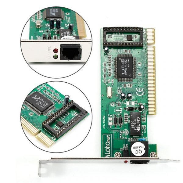 100 Mbps Gigabit Ethernet PCI Express PCI-E carte réseau 10/100 M RJ-45 RJ45 LAN adaptateur convertisseur contrôleur réseau