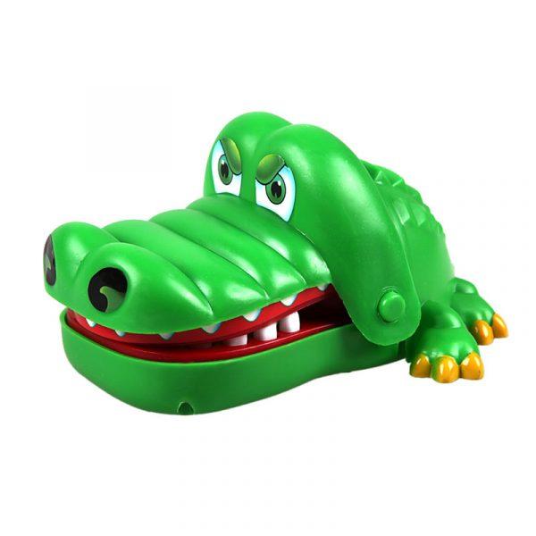 Bouche dentiste morsure doigt jouet grand Crocodile tirant des dents barre jeux jouets enfants drôle jouet pour enfants cadeau