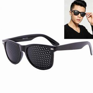 Verres correcteurs portables De soin De Vision améliorant sténopéique sténopéne lunettes De trou d'épingle Anti-fatigue Protection des yeux Oculos De Grau