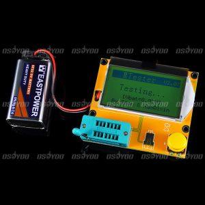 Compteur ESR numérique Mega328 Transistor testeur Diode Triode capacité MOS/PNP/NPN L/C/R testeur mètre livraison gratuite et livraison directe